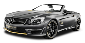 Black Mercedes AMG SL63 Car PNG
