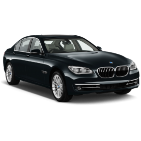 Black Sapphire Metallic BMW 7 Sedan 2013 Car PNG