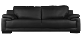 Black Sofa PNG