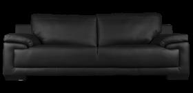 Black Sofa PNG