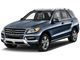 Blue Mercedes SUV PNG