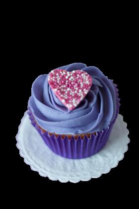Blue Velvet Cupcake PNG