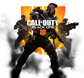 Call of Duty Black Ops 4 Cover Image PNG