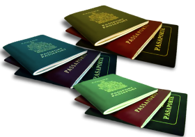 Canadian Passports PNG