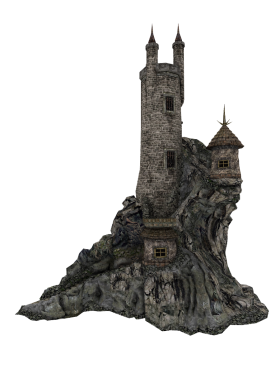 Cut-out Castle PNG