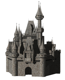 Drawing of a Castle PNG
