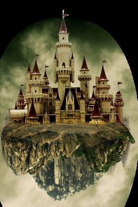 Suspending Castle PNG