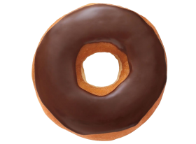 Chocolate  Donuts PNG