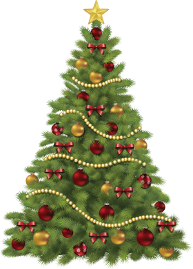 Christmas Tree Clipart PNG