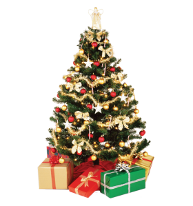 X-mas Tree Decorative PNG