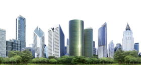 City Skyline PNG
