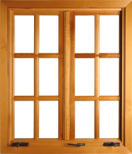 Classic wooden Window PNG