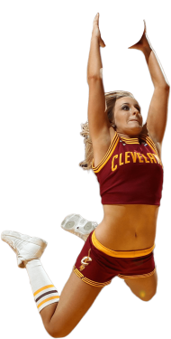 Cleveland Cheerleader PNG