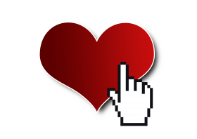 Click on Heart PNG