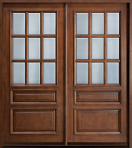 Closed Double door PNG