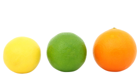 Colorful Fruits PNG