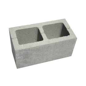 Concrete Block with holes PNG