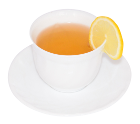Cup of Lemon Green Tea PNG