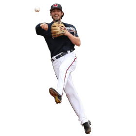 Dansby Swanson Throwing a Ball PNG