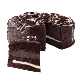 Dark Chocolate Cake PNG