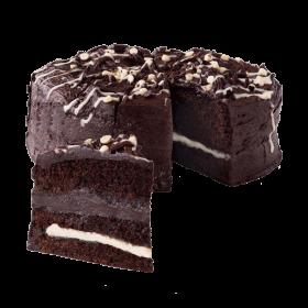 Dark Chocolate Cake PNG