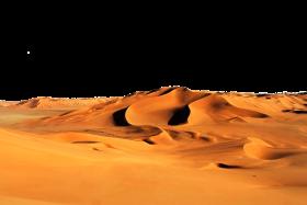 Golden Sand Dunes PNG
