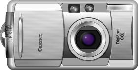 Digital Camera Comic PNG