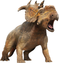 Dinosaur doing his Battlecry PNG