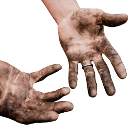 Dirty Hands PNG