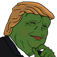 Donald Trump Pepe PNG