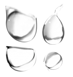 Droplets PNG
