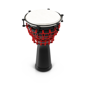 Black Red and White Percussion PNG
