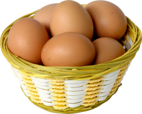Eggs in a Basket PNG