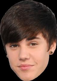 Face Justin Bieber PNG
