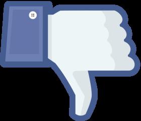 Facebook Dislike PNG