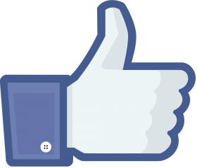 Facebook Like modern PNG
