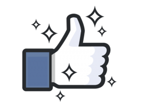 Facebook Thumbs Up PNG