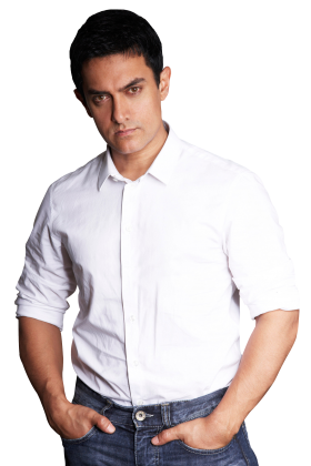 Famous Actor Aamir Khan PNG