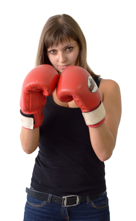 Female Boxer PNG