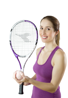Female Tennis Player PNG