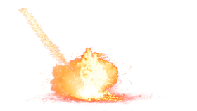 Big Fire Explosion PNG
