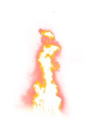 Fire Flame Sparkling PNG