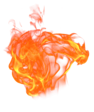 Fire Flame Burning Big PNG