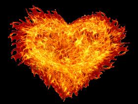 Fire Heart PNG