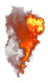 Fire Smoke Explosion PNG