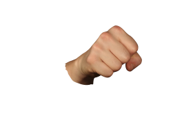 Punching Fist PNG