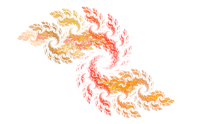 flame Spiral effect PNG