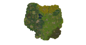 Fortnite New MiniMap PNG