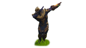 Fortnite Thanos Dab PNG