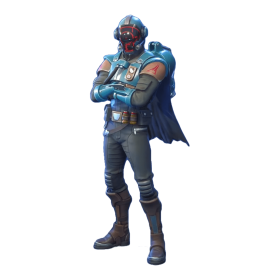 Fortnite Visitor skin PNG